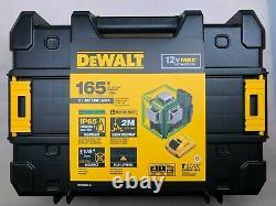 Dewalt DW089LG 12 volt 3 x 360 Degree Green Rotary Line Laser Kit NEW