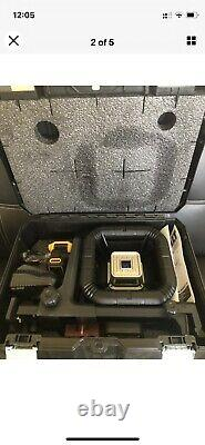 Dewalt Dw079lr Self Leveling 20 Volt Rotary Laser Level 200' Range Brand-new