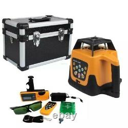 Green Beam Laser Self-leveling Rotary Laser Level 360 Automatic Leveling 800m