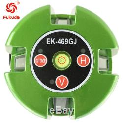 Green Laser Level 5 Line 360 Rotary Laser green line self leveling with receiver