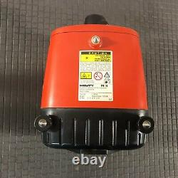 Hilti PR16 Self-Leveling Rotary Laser with Hilti PA321 Mount and Case