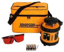 Johnson 40-6515 Self-Leveling Rotary Laser Level