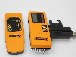 Johnson 40-6539 Self-Leveling Rotary Laser Kit With Storage Case
