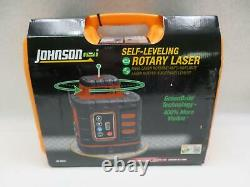 Johnson 40-6543 Self-Leveling Rotary Laser Level with GreenBrite Technology