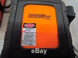Johnson Acculine Pro Rotary Self -Leveling Laser Level 40-6527 With40-6700 CONTRO