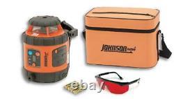 Johnson Level-40-6515 Self-Leveling Rotary Laser Level
