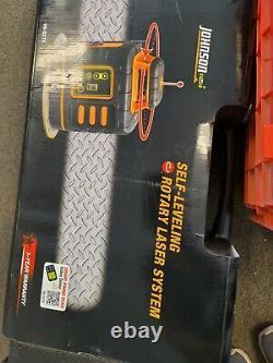 Johnson Level & Tool 99-027K Self-Leveling Rotary Laser System Hard Case Kit