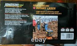 Johnson Self Leveling Rotary Laser 40-6539 New