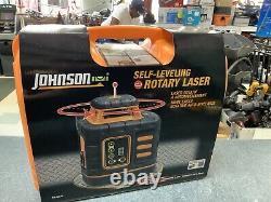 Johnson Self Leveling Rotary Laser Level Kit set 40-6539