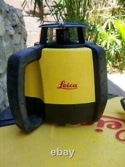 Leica Rugby 680 self-leveling rotary laser