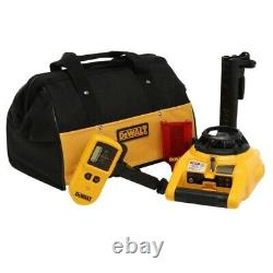 NEW DeWALT DW074KD Interior & Exterior Self Leveling Rotary Laser with Accessories