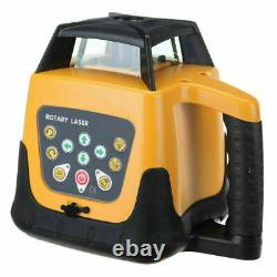 NEW ROTARY/ROTATING GREEN LASER LEVEL KIT WITH CASE 500M range