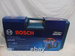 New Bosch GRL1000-20HVK Self-Leveling Rotary Laser System