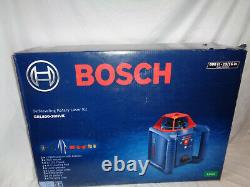 New Bosch GRL80020HVK Self Leveling 800ft Rotary Laser Kit #A66