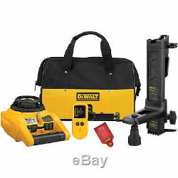 New Dewalt Dw074kd Self Leveling Interior And Exterior Rotary Laser Level Kit