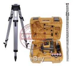 New! Topcon Rl-h5a Self-leveling Rotary Slope Laser Level Package, Grade, Inch