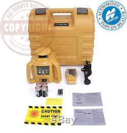 New! Topcon Rl-h5b Self-leveling Rotary Laser Level, Transit, Rl-h4c