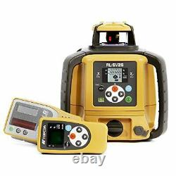 New! Topcon Rl-sv2s Dual Slope Self-leveling Rotary Laser Level Package