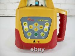 PLS HVR 505R Compact Self Leveling Red Rotary Laser System