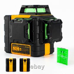 Rotary Laser 3 X 360 laser lines Self-Leveling & Magnetic Pivoting Base&Battery