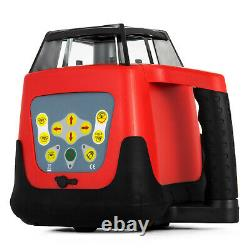 Rotary Laser Level Green Beam Self-Leveling 360 Degree Automatic 500M with Case