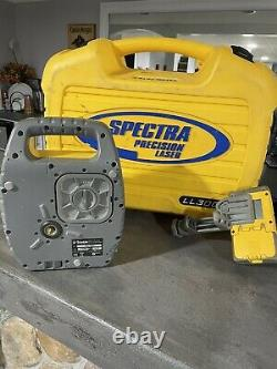 SPECTRA PRECISION LL300 SELF-LEVELING ROTARY LASER With HR 350 Receiver