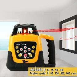 Samger Self-Leveling 360° Rotary Rotating Red Laser Level Range 500M Tool Kit
