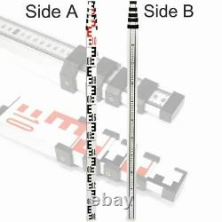 Self-Leveling 360° Rotary Rotating Red Laser Level 500m Range & Tripod Staff