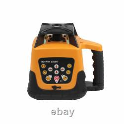 Self-leveling Rotary Red Laser Level kit 150 meter distance UK Stock