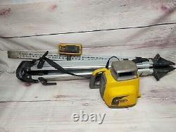 Spectra LL300N Self-Leveling Rotary Laser withTripod and Receiver