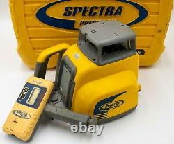Spectra Precision LL300N Self Leveling Rotary Laser With HR 320 Receiver