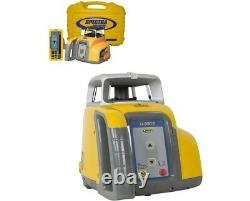 Spectra Precision LL300S Self-Leveling Rotary Laser Level With HL450 Receiver