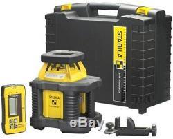Stabila LAR200 Exterior Self-Leveling Rotary Laser Basic Kit
