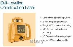 Topcon 1021200-31 RL-H5B Self Leveling Horizontal Rotary Laser