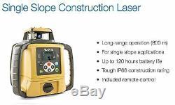 Topcon 313990756 RL-SV1S Self Leveling Single Slope Rotary Laser
