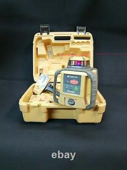 Topcon RL-H4C DB Rotary Laser Level with LS-80B Receiver 81