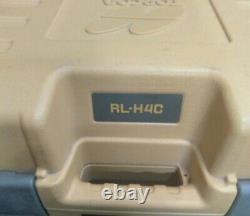 Topcon RL-H4C Self Leveling Long range rotary laser level EXCELLENT SHAPE
