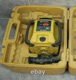 Topcon RL-H4C Self Leveling Rotary Laser with Futura cr2+