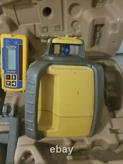Topcon RL-H4C Self Leveling Rotary Laser with HL 450 Receiver