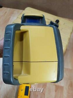 Topcon RL-H4C Self Leveling Rotary Laser with Laser mark LD-100N