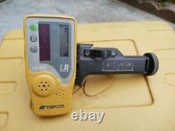 Topcon RL-H4C Self Leveling rotary laser level