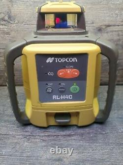 Topcon RL-H4C Self Leveling rotary laser level AS IS FOR PARTS OR REPAIR ONLY