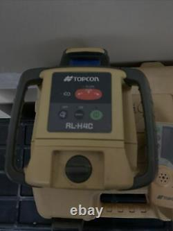 Topcon RL-H4C Self Leveling rotary laser level(great Cons.)