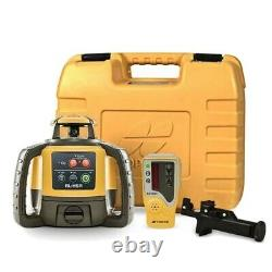 Topcon RL-H5A Horizontal Self-Leveling Rotary Laser with LS-80L Receiver