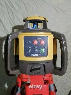 Topcon RL-H5A Self-Leveling Rotary Grade Laser Level W tripod with