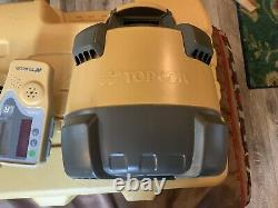 Topcon RL-H5A Self-Leveling Rotary Grade Laser with LS-80L Receiver