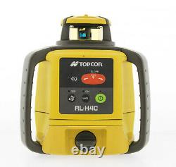 Topcon RL-H5A Self-Leveling Rotary Grade Laser with Remote