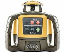 Topcon RL-H5A Self-Leveling Rotary Laser LS-80L Receiver Dry Cell Battery