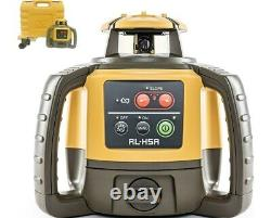 Topcon RL-H5A Self-Leveling Rotary Laser Level LS-80L Receiver