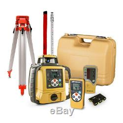 Topcon RL-SV1S Self-Leveling Single Grade Rotary Laser with Receiver